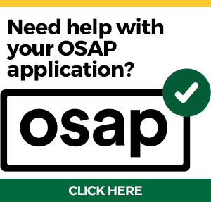 Need help with your OSAP application?